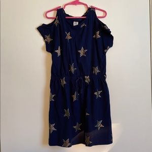 Gap Kids girls size M (8) star dress